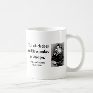 Nietzsche Quote 5b Coffee Mug