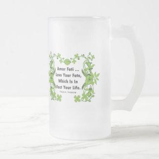 Nietzsche Quote Love Your Fate Coffee Mugs