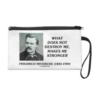 Nietzsche What Does Not Destroy Me Makes Stronger Wristlets