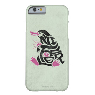 Niffler Typography Graphic Barely There iPhone 6 Case
