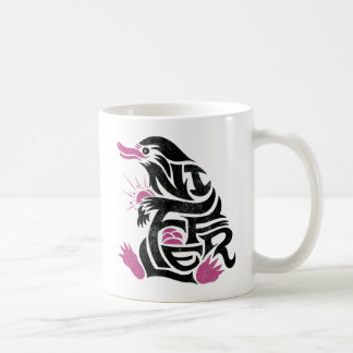 Niffler Typography Graphic Coffee Mug