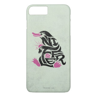 Niffler Typography Graphic iPhone 8 Plus/7 Plus Case