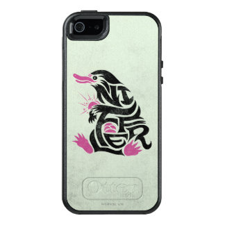 Niffler Typography Graphic OtterBox iPhone 5/5s/SE Case