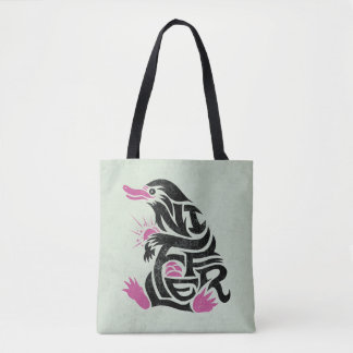 Niffler Typography Graphic Tote Bag