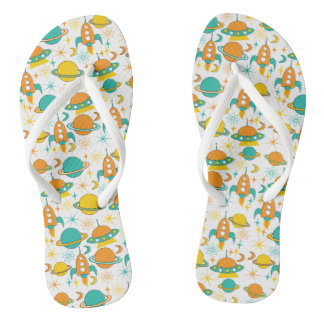 Nifty fifties - space age flip flops