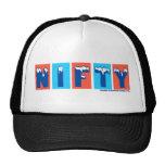 Nifty Logo Trucker Cap Hat