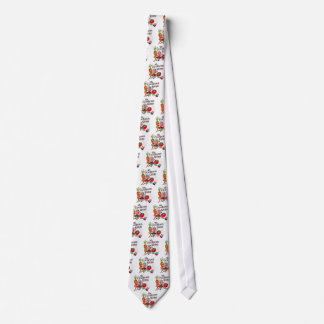 Nifty Vintage 1950 Cookout Picnic Barbecue Tie