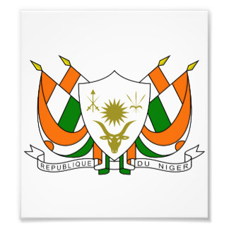 Niger Coat Of Arms Photo Print