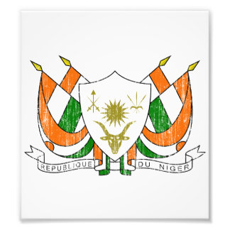 Niger Coat Of Arms Photograph