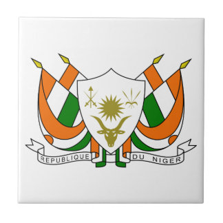 Niger Coat Of Arms Tile