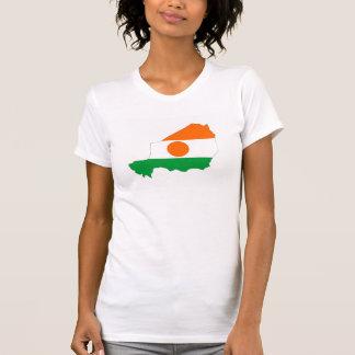 niger country flag map shape symbol T-Shirt