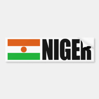 Niger Flag Bumper Sticker