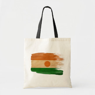 Niger Flag Canvas Bags