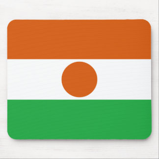 Niger Flag Mousepad