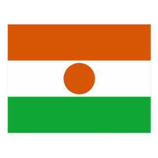 Niger Flag Postcard