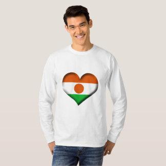 Niger Heart Flag T-Shirt