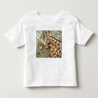Niger, Koure, two Giraffes in bushes in the west Toddler T-Shirt
