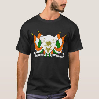 Niger Official Coat Of Arms Heraldry Symbol T-Shirt