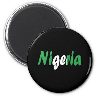 Nigeria 6 Cm Round Magnet