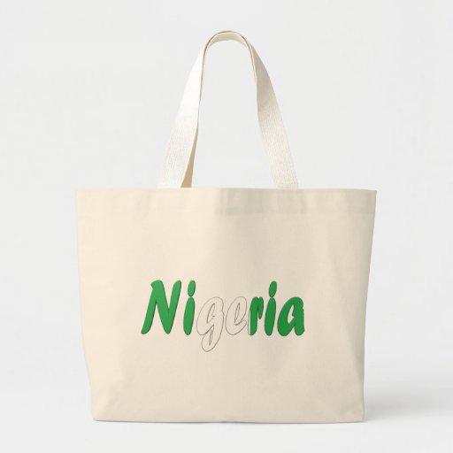 Nigeria Tote Bags