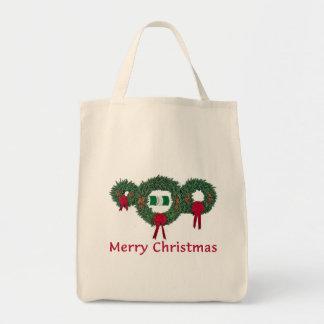 Nigeria Christmas 2 Grocery Tote Bag