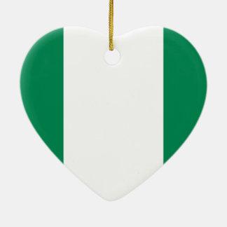 Nigeria Christmas Ornament