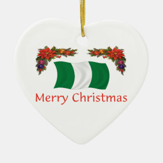 Nigeria Christms Christmas Ornament