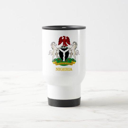 Nigeria COA Travel Mug
