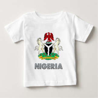 Nigeria Coat of Arms Baby T-Shirt