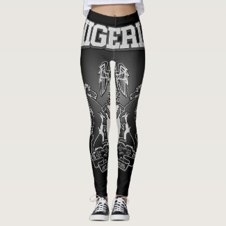 Nigeria Coat of Arms Leggings