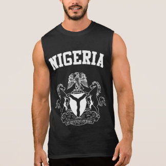 Nigeria Coat of Arms Sleeveless Shirt