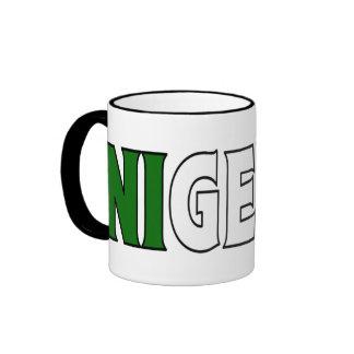 Nigeria Coffee Cup Ringer Mug