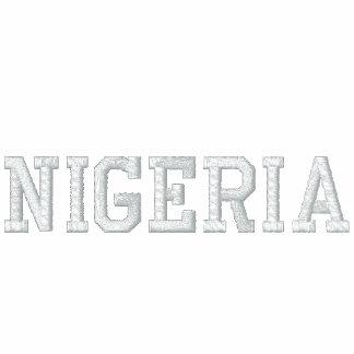 NIGERIA CUSTOM EMBROIDERED HOODY