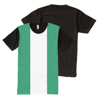 Nigeria Flag All-Over-Print T-shirt