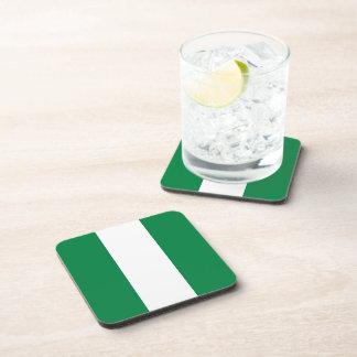 Nigeria Flag Coaster