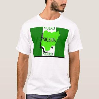 Nigeria flag men's t-shirts