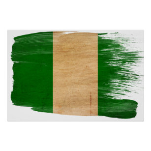 Nigeria Flag Posters