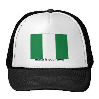 Nigeria flag  souvenir hat