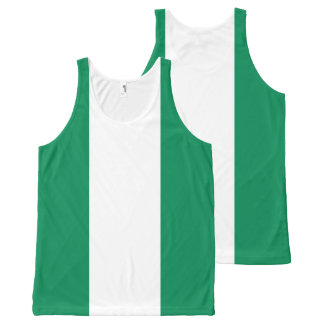 Nigeria Flag Tank top