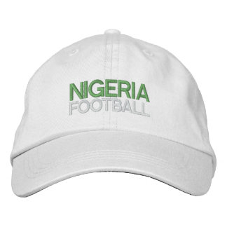 NIGERIA FOOTBALL EMBROIDERED BASEBALL CAP