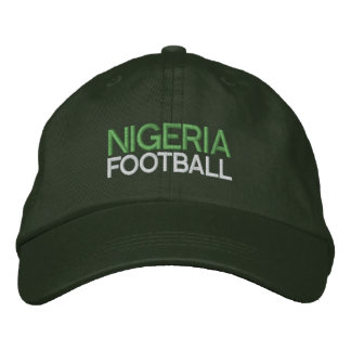 NIGERIA FOOTBALL EMBROIDERED HATS