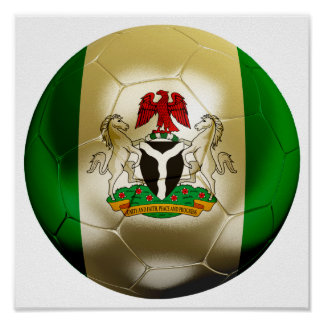 Nigeria Football Poster