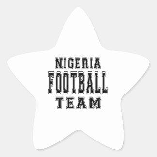 Nigeria Football Team Star Stickers