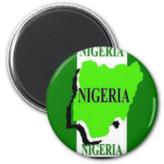 Nigeria Fridge Magnet