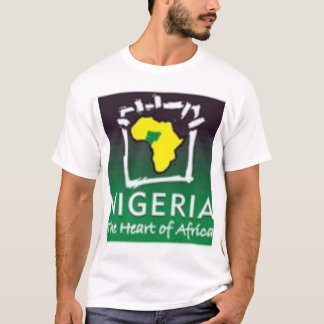 Nigeria, heart of Africa T-Shirt