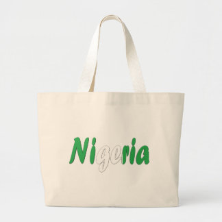 Nigeria Jumbo Tote Bag