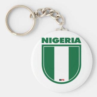 Nigeria Keychain