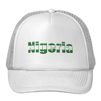 Nigeria Logo in the colors of the Nigerian flag Cap