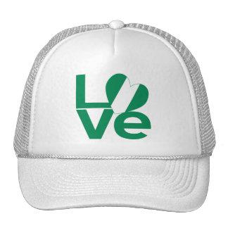 Nigeria LOVE Green Cap