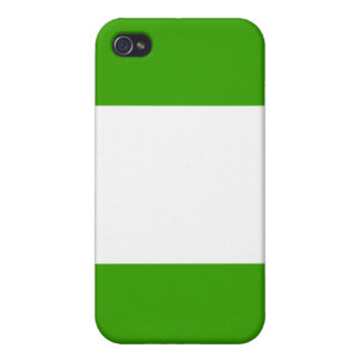 Nigeria nation flag  iPhone 4/4S cover